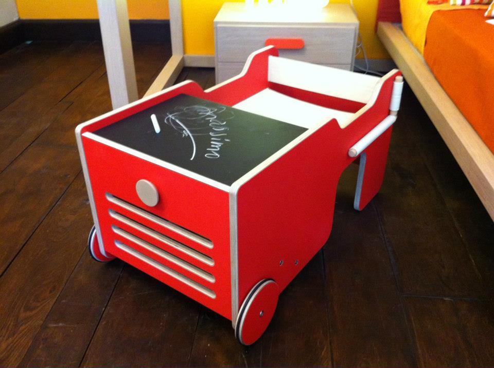 Brum Brum tavolino per bambini Belvi camerette Torino