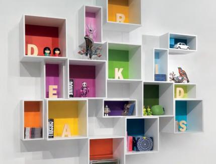 Cubo libreria per bambini e ragazzi Belvi camerette Torino