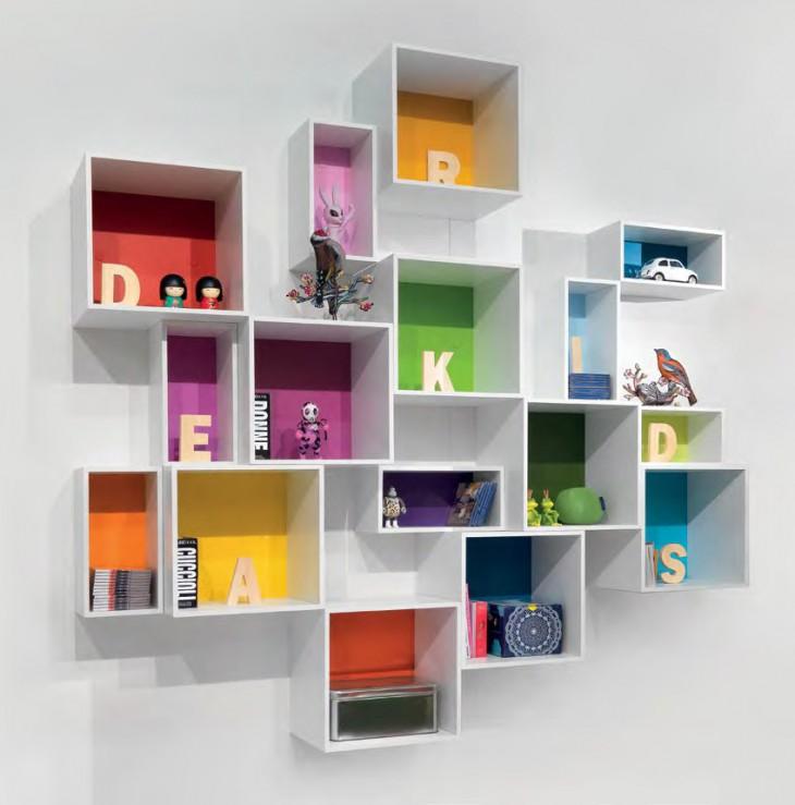 Librerie per camerette ragazzi librerie e mensole per - Mensole per camera bambini ...