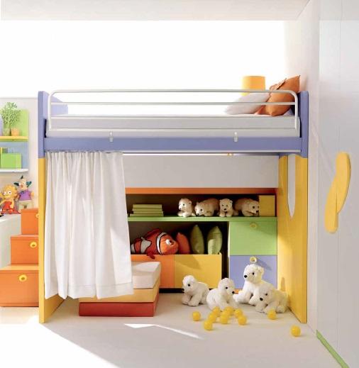 Due in uno 2 letto per bambini Belvi camerette Torino