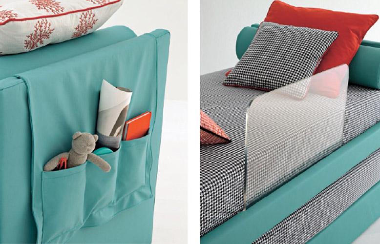 Tasca accessori letti per bambini Belvi camerette Torino