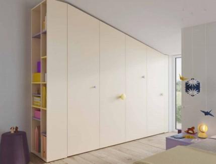 Lux armadio mansardato per bambini e ragazzi Belvi camerette Torino