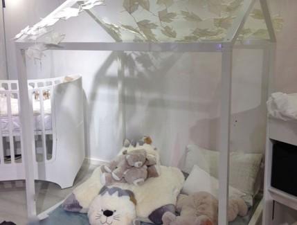 Progetto struttura tetto zona gioco per bambini Belvi camerette Torino