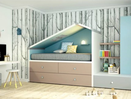 Cottage basso letto per bambino Belvi camerette Torino