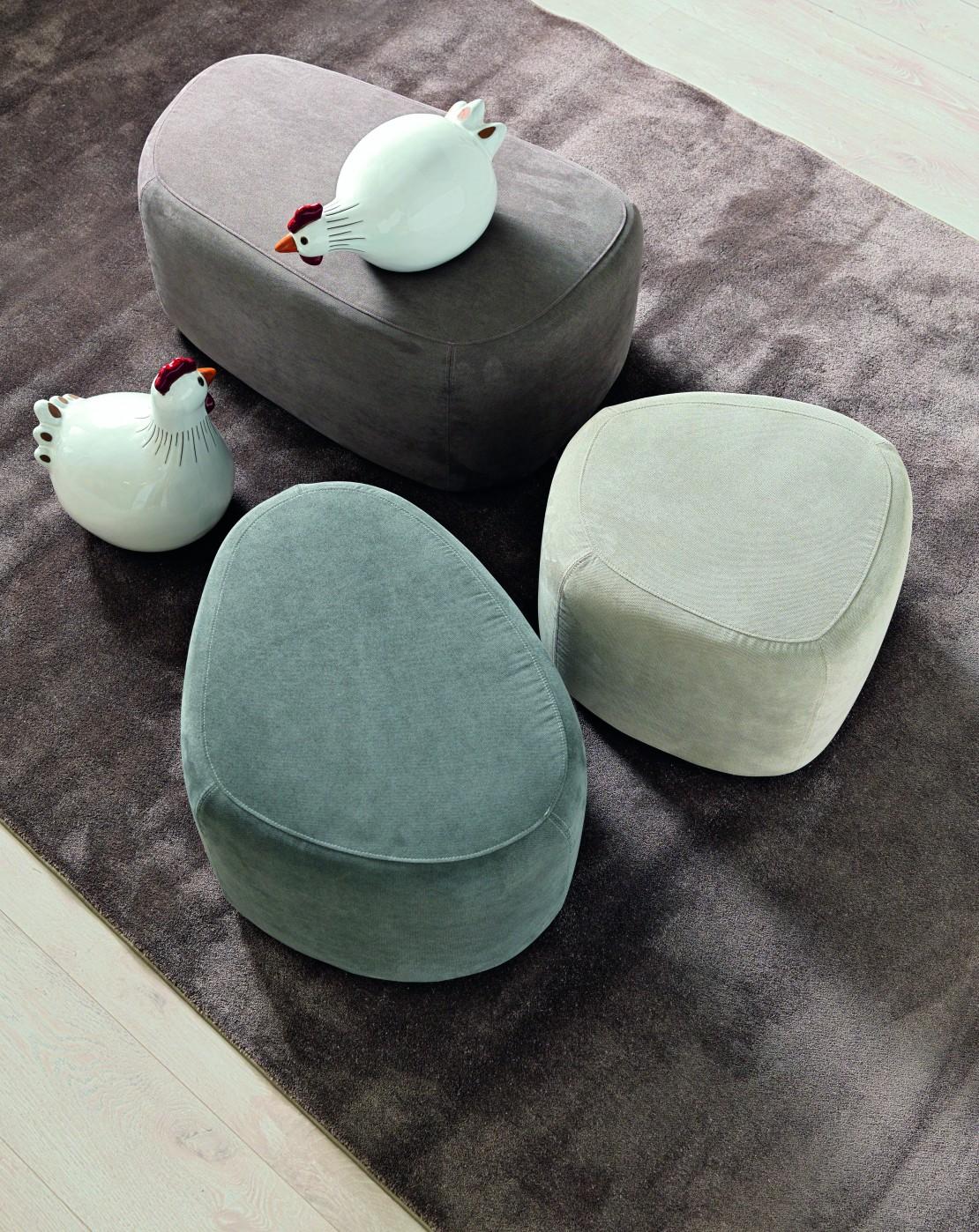 Stone pouf per bambini e ragazzi Belvi camerette Torino