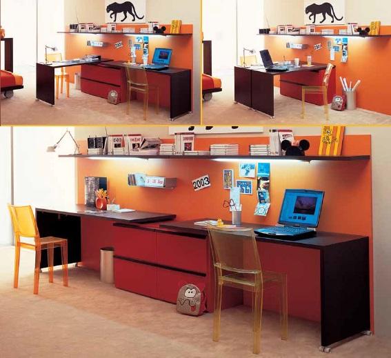 Dear rotante scrivania per bambini e ragazzi Belvi camerette Torino