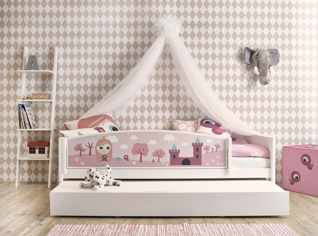 Letto A Baldacchino Per Bambina.Nordica Tema Little Princess Letto Baldacchito Belvi Torino