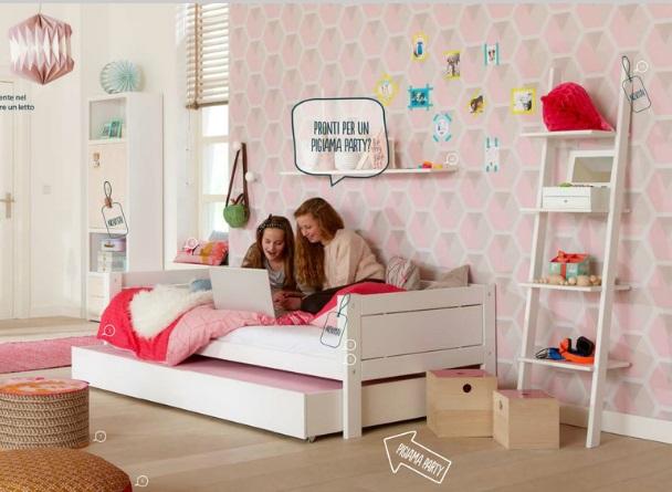 Letto basso o alto prodotti letti ingrosso arredamenti - Letto basso per bambini ...