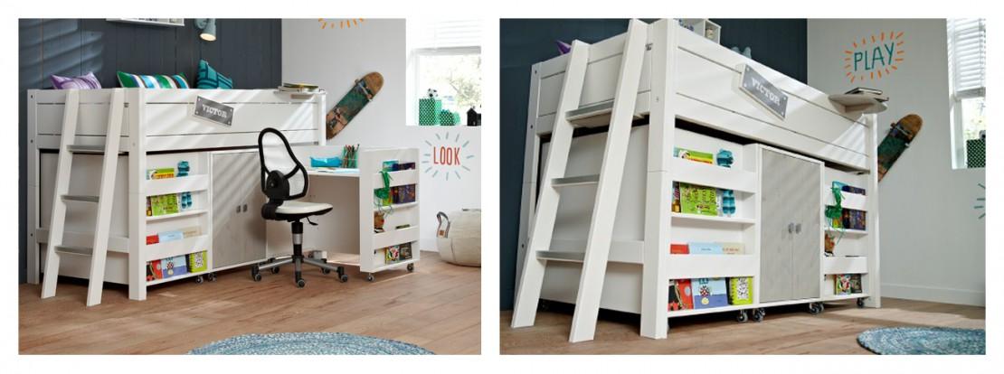 Nordica Play letto trasformabile per bambini Belvi camerette Torino