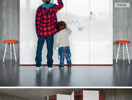 Graf armadio per bambini Belvi camerette Torino