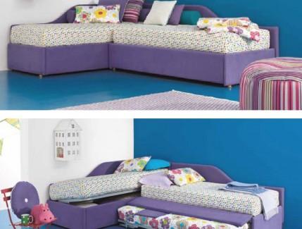Space letto basso attrezzato per bambini Belvi camerette Torino