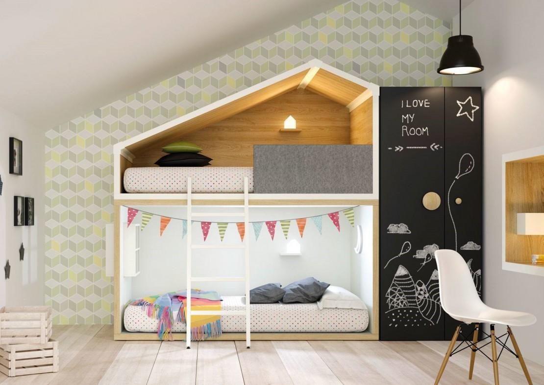 Cottage letto per bambini Belvi camerette Torino