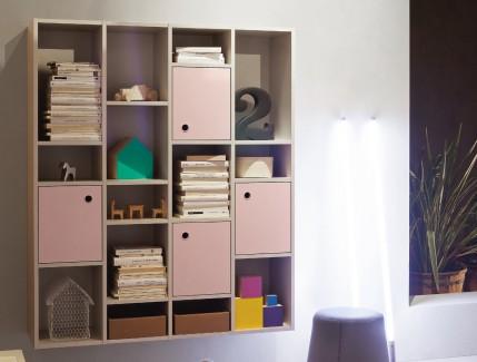 Lux sospesa libreria per bambini e ragazzi Belvi camerette Torino