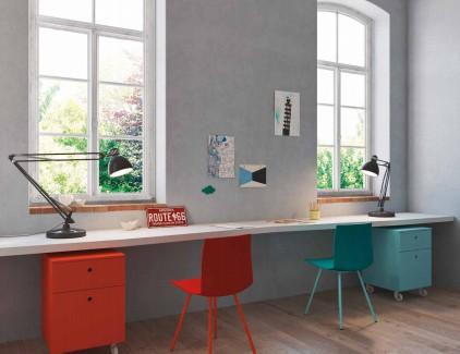 Lux sospesa scrivania per bambini e ragazzi Belvi camerette Torino