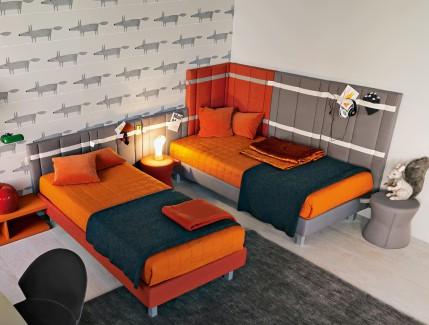 New arancio Cameretta Condivisa Belvì Torino