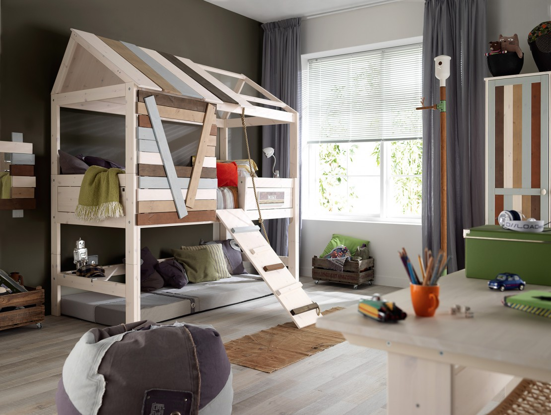 Nordica Casetta sull albero letto per bambino Belvi camerette Torino