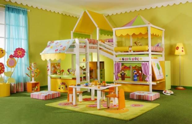 Progetto primavera letto per bambini Belvi camerette Torino