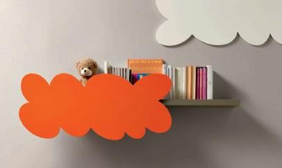 Nuvola mensola per bambini Belvi camerette Torino