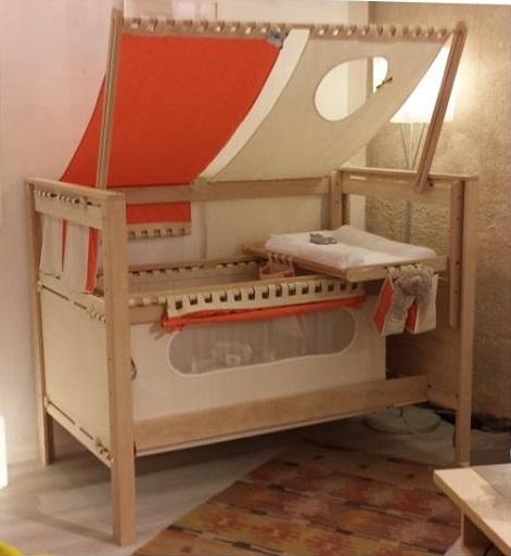 Vibel Nature Petite Graine lettino trasformabile evolutivo per bambini Belvi camerette Torino