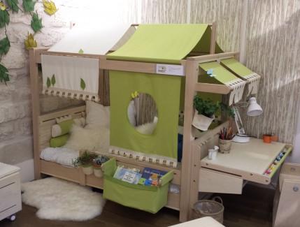 Vibel Nature Jeune Pousse lettino trasformabile evolutivo per bambini Belvi camerette Torino
