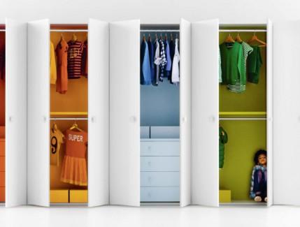 Multicolor armadio per bambini Belvi camerette Torino