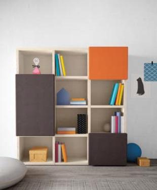 Sweet libreria modulare per bambini Belvi camerette Torino