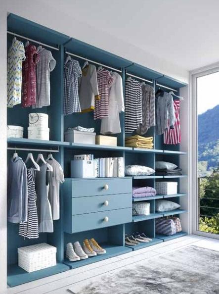 Dimo blu cabina armadio per bambini e ragazzi Belvi camerette Torino