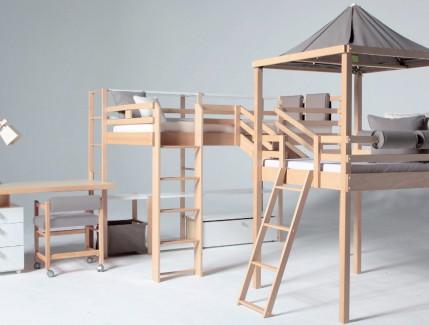 Progetto letto per bambini Belvi camerette Torino