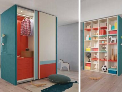 Lillo armadio per bambini e ragazzi Belvi camerette Torino