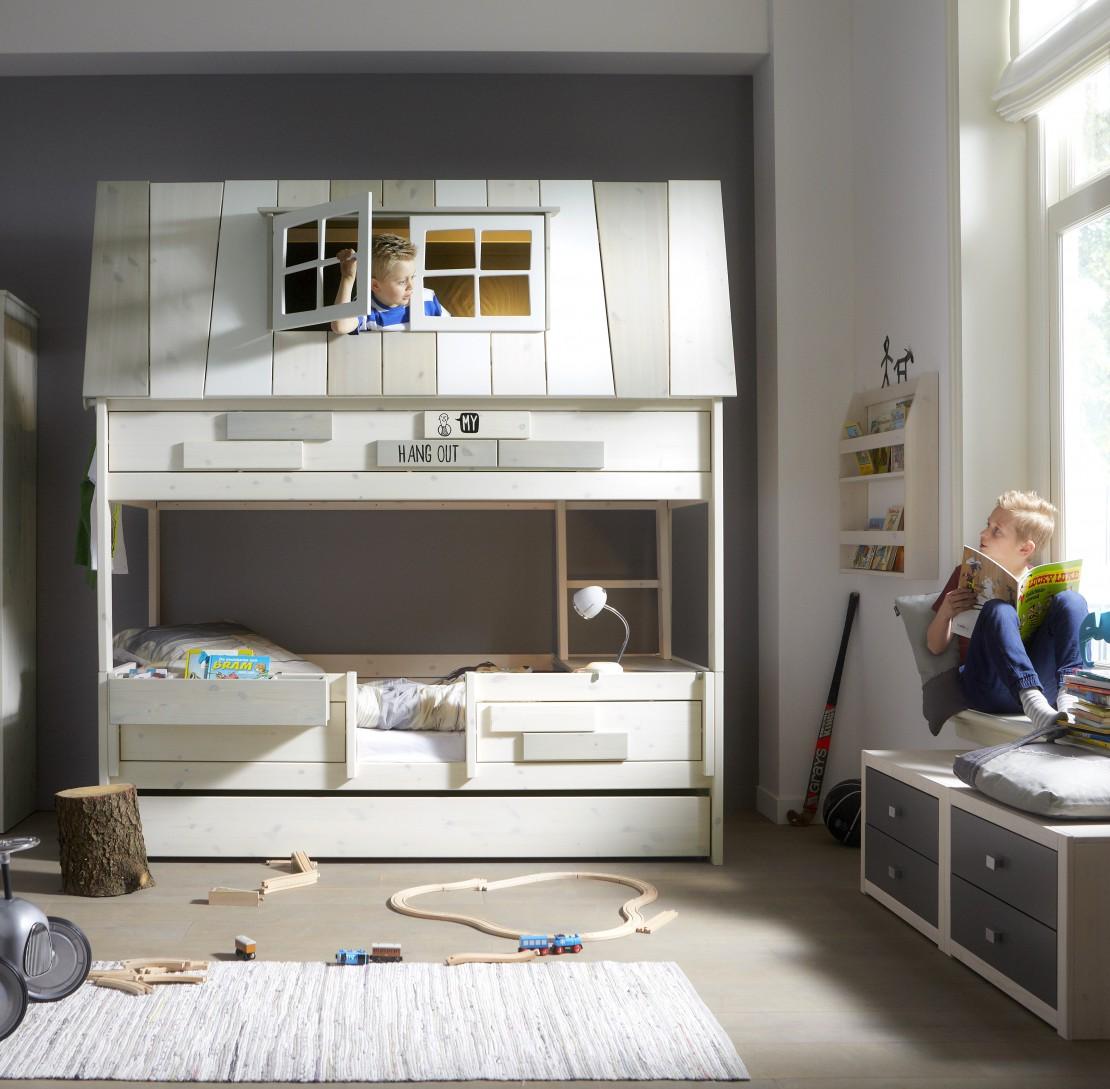Nordica capanna letto per bambini Belvi camerette Torino