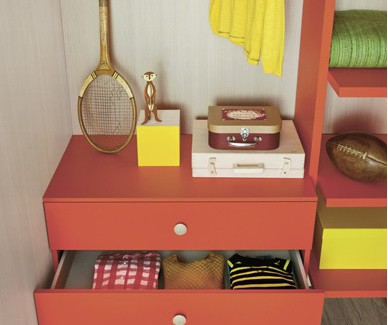 Dimo cassettiere per bambini e ragazzi Belvi camerette Torino
